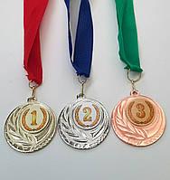 Медаль призовая первое второе третье место