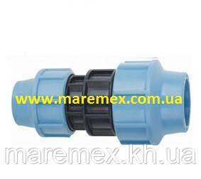 Муфта затискна перехідна 75х40 (0) - Santehplast