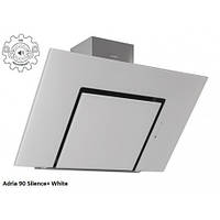 Вытяжка  для кухни бесшумная сенсорная Fabiano  Adria 90 White Silence+