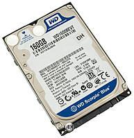"""Винчестер  для ноутбука 160GB SATA, 2.5"""" б/у"""