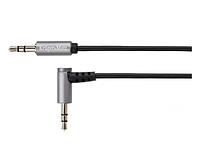 Кабель штек. угловой - штек. прямой  jack 3.5  stereo 1.0m Kruger&Matz