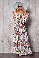 Красивое летнее платье в пол