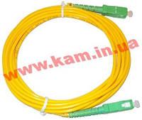 Патчкорд SC/ APC-LC/ APC SM 2м Duplex (APC-2SCLC(SM)D(AD))