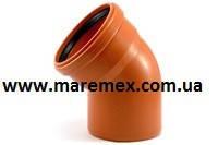 Колено наружное (угол) Пвх 110х30 (15) - Мпласт
