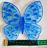 Яркая бабочка мини коврик