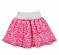 Красивая нарядная летняя шифоновая юбка солнце-клеш на девочку