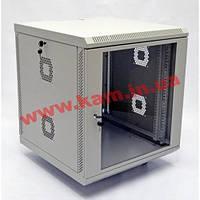 Шкаф 12U, 600х600х610 мм (Ш*Г*В), акриловое стекло, серый(UA-MGSWA126G) (UA-MGSWA126G)