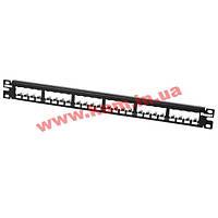 "Рамка для наборной 19"" патч-панели, 24 порта Mini-Com, Panduit (CP24BLY)"