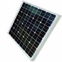Монокристалическая солнечная панель (батарея) Kvazar KV-20M/12 20Вт