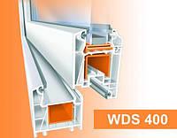Окно из профиля WDS 400