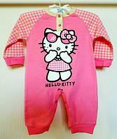 Человечек с открытыми ножками Hello Kitty Для девочки 0-24 мес.