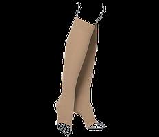 Компресійні гольфи (відкритий носок) ІІІ клас компресії, бежеві ReMED