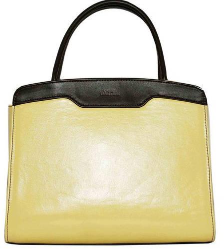 Замечательная женская сумочка из натуральной кожи VATTO Wk15 N8Kaz400, желтый+коричневый
