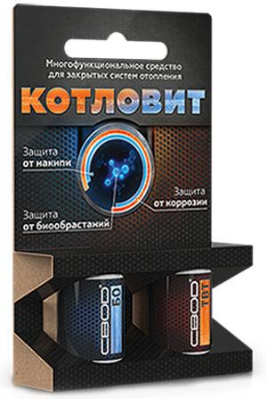 Средство Котловит (СВОД БО + СВОД ТВТ по 4 таблетки) для закрытых систем отопления - Интернет-магазин ТЕХГАРАНТ в Киеве