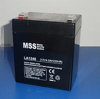 Аккумулятор MSS 1240 (12v 4Ah )