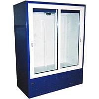 Холодильный шкаф Айстермо ШХС-1.2 (0...+8°С, 1400х700х2000 мм, раздвижные стеклянные двери)