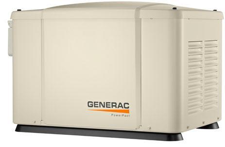 Однофазный газовый генератор GENERAC 6520 (5,6 кВт)