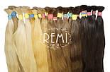 Зріз слов'янських волосся 60см. Колір #Блонд, фото 9
