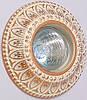 Светильник точечный Ultralight CL 005-WQD бежево-золотой