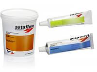 Zetaflow Intro Kit. Відбитковий матеріал, С-силікон. Набір: база Zetaflow Putty 900 мл (1530 гр.), C-cилікон д
