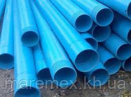 Скважина д.125/3м/5мм (резьба) синяя - Мпласт