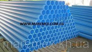 Труба для свердловин обсадна д. 140х10атм\3м (різьба) - Evci Plastik