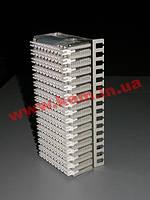 Распределительный блок 128 парный блок, 16x8 пар, горизонтальный, 1000RT, маркир (S30264-D1014-H160)