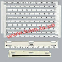 Комплект с маркировкой на 100 пар (1-100, 10 парная) 1000RT, Corning (C39104-A123-D1)