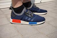 Adidas NMD Мужские кроссовки |темно-синие с красным