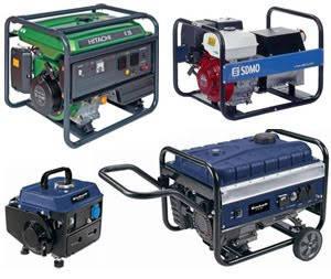 Бензинові генератори