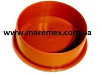 Заглушка для труб наружной канализации Пвх 110 (100) - Мпласт