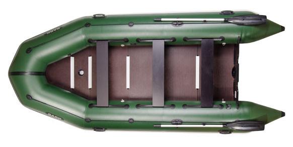 Килевая надувная пвх лодка Bark BT-450 S