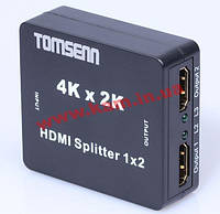 KVM переключатель HDMI 1x2,Splitter 1.4 USB-powered,HQ,черний (70.08.3279-10)