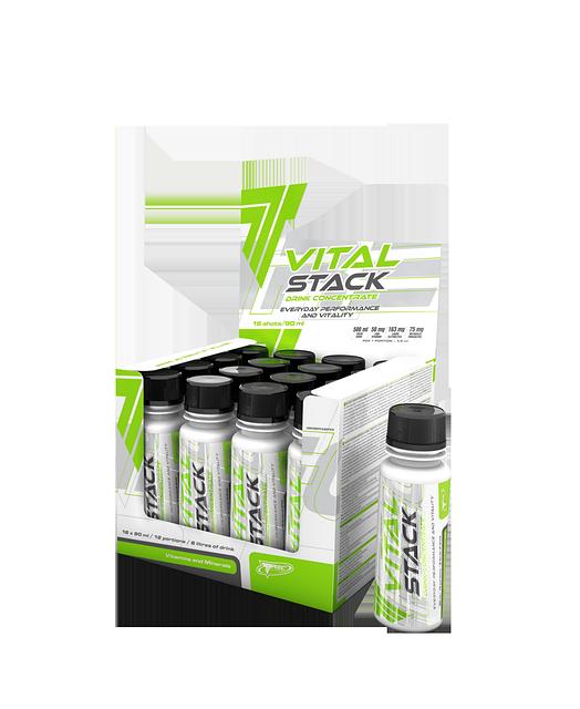 Напиток обогащенный витаминами и минералами Vital Stack Shot - 90 мл