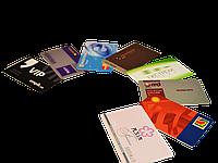 Печать на карточках EM-Marine (проксимити картах) цветная / принтер Evolis - две стороны