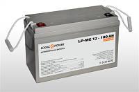 Аккумулятор мультигелевый 12V 100Ah LogicPower LP-MG 12-100