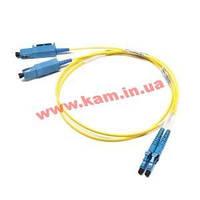 Кабель мережевий FiberOptic ST->ST 2.0m,M=50/ 125 Multimode Duplex OM2,HQ,оранжевий (75.09.6178-10)