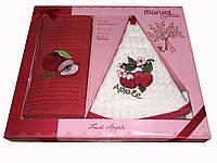Набор вафельных полотенец в подарочной упаковке