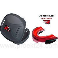 Капа боксерская RDX Gel 3D Elite Red