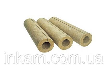 Базальтовый цилиндр для изоляции труб диаметр 273 мм  толщина 100 мм