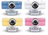 Веб камера Gemix F9: встроенный микрофон, USB 2.0, 640х480, 1/4 CMOS Sensor, прищепка