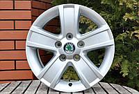 Оригинальные литые диски Skoda R15 5x112 на шкоду OCTAVIA II Octavia III Octavia Scout Superb I Superb II