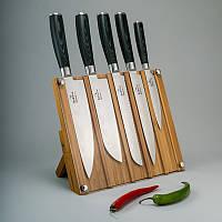 """Набор ножей из дамасской стали """"Micarta"""" 5ед."""