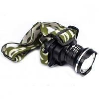 Налобный фонарь Zoom Bailong BL-6807, фото 1