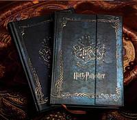 """Винтажный блокнот """"Гарри Поттер. Герб Хогвардса."""""""