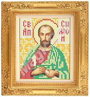 Схема для вышивания икона «Святой Апостол Симон Зилот» ВШ,140х150,Габардин,Арт.М-17 /05-8