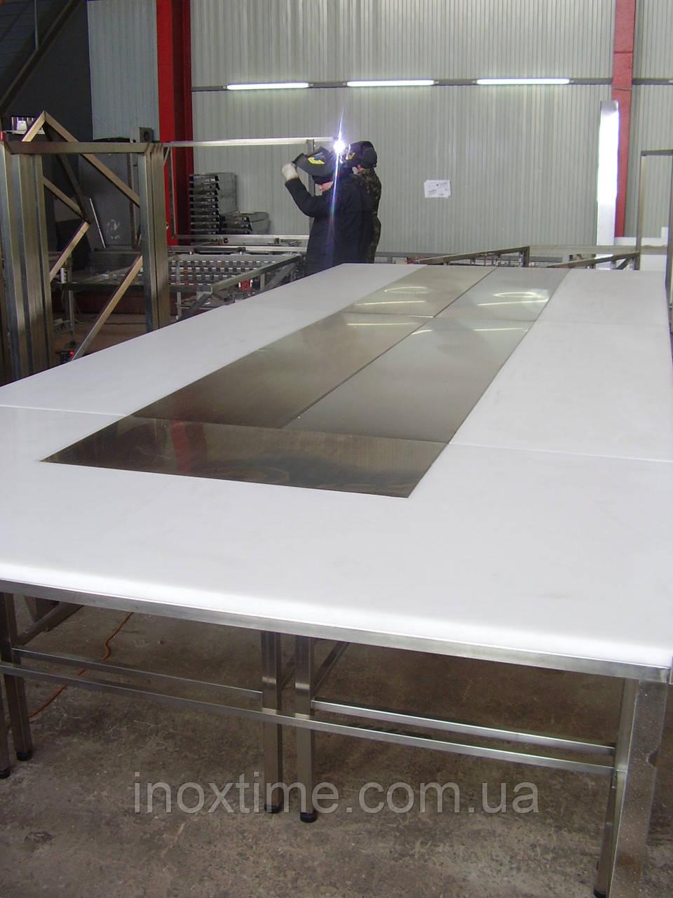 Комплекс столов для обвалки мяса