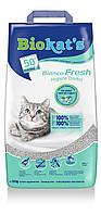 Gimpet Biokat's Bianco Fresh Комкующийся наполнитель для кошачьего туалета