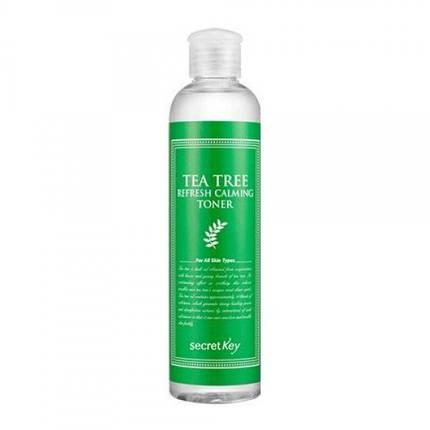 Освежающий тонер с экстрактом чайного дерева Secret Key Tea Tree Refresh Calming Toner, 248 мл, фото 2