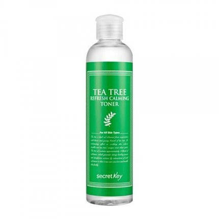 Освежающий тонер с экстрактом чайного дерева Secret Key Tea Tree Refresh Calming Toner, 248 мл, фото 2
